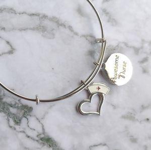 Jewelry - Nurse charm bangle bracelet